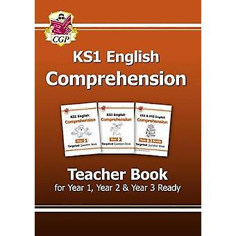 KS1 English Targeted Comprehension Teacher Book 1 for Year 1 Year 2  Year 3 Ready