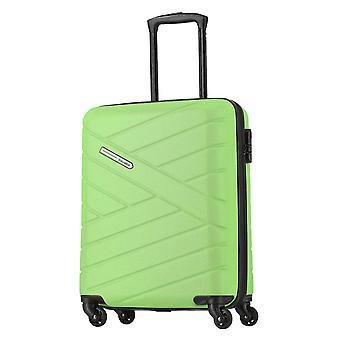 rejsestedet Bliss Håndbagage Trolley S, 4 hjul, 55 cm, 38 L, grøn
