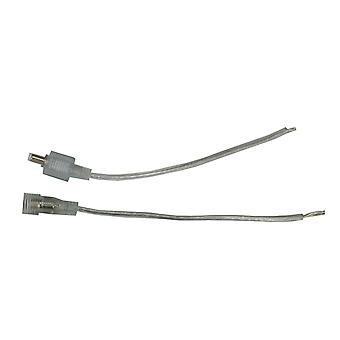 Jandei DC12V IP65 kablolu kadın erkek konnektör