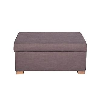 Bliss Color Lavanda Madeira Footrest 82x62x40 cm