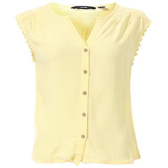 Mujer's Vero Moda Naomi Camiseta sin Mangas en Amarillo