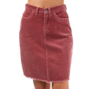 Women's Only Morris Cord Skirt in Brown