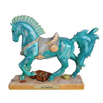 Trail Of Painted Ponies Sea Stallion Figurine