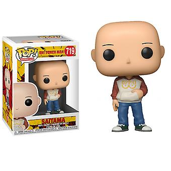 One Punch Man Casual Saitama Funko Pop!