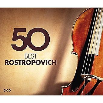 Rostropovich Rostropovich - 50 Beste Rostropovich [CD] De invoer van de V.S.