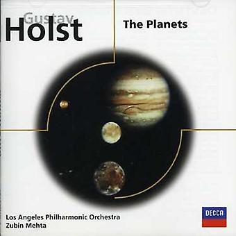 Mehta/Los Angeles Philharmonic Orch. - Holst: The Planets [CD] USA import