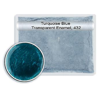 Leadfree Transparent Enamel Turquoise Blue, 432, 25gm