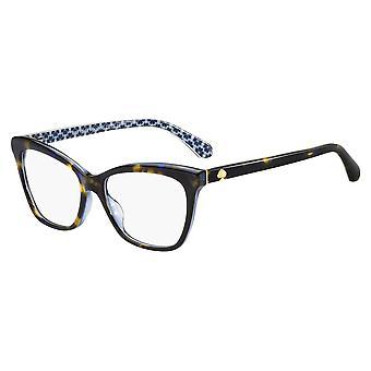 Kate Spade Adria IPR Blue Havana Glasses