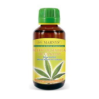 Óleo de semente de cânhamo 125 ml de óleo