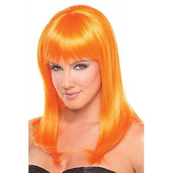 Hollywood Wig - Orange