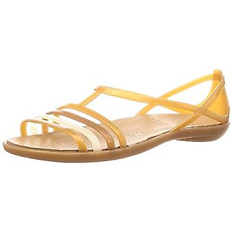 Crocs Womens Isabella zehenoffenen lässig Folie Schuhe