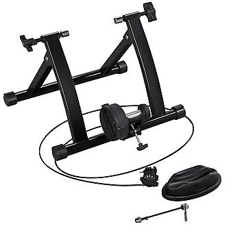 Magnetic Bicycle Trainer Bike Turbo Trainer Indoor Stationary Exercise Stand Steel Frame,Magnetic Resistance