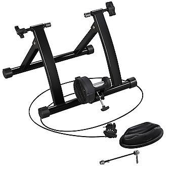 magnetisk sykkel trener sykkel turbo trener innendørs stasjonær øvelse stativ stål ramme, magnetisk motstand