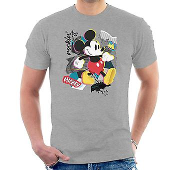 Disney Mickey Mouse retro Pop Art miesten ' s T-paita