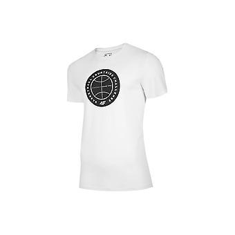 4F TSM027 H4L20TSM027BIAY universal all year men t-shirt