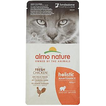 Almo Nature Holistic Maintenance Cat Dry Food With Chicken And Rice - 400g