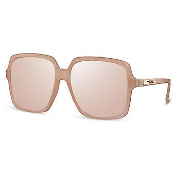 نظارات شمسية المرأة القط مستطيلة. 3 وردي