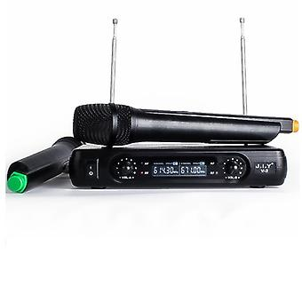 Handheld Wireless Karaoke Microphone&player Karaoke Echo Mixer System Digital Sound Audio Mixer Singing Machine V2+