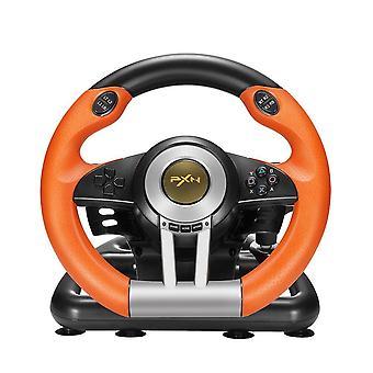 عجلة قيادة الألعاب مع دواسة وU على شكل قوس