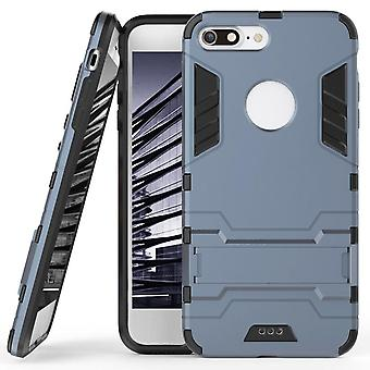 Shell for Apple iPhone 8 Plus Space Armor Dark Blue Plastic Protection Case