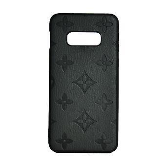 Puhelimen kotelo Iskunkestävä kansi Monogram GG Samsung S10E: lle (musta)