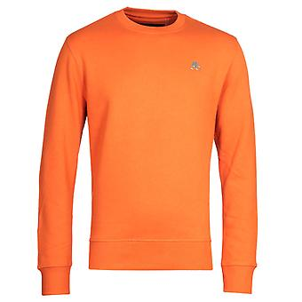 Moose Knuckles Robinson Orange Sweatshirt