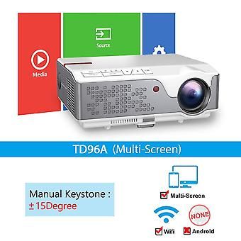 Full Hd Projector Td96/td96w Android Wifi Led Native 3d Home Theater