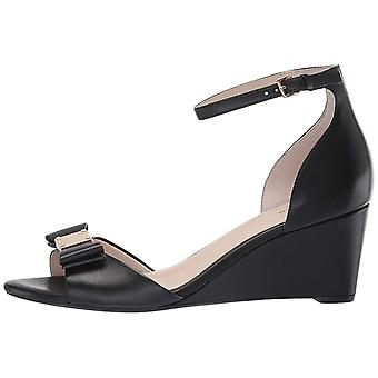 Cole Haan Women's Shoes TALI GRND BOW WDG SD Leather Open Toe Casual Ankle St...