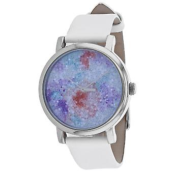 Timex Frauen's Kristallblüte Multi Farbe Zifferblatt Uhr - TW2R66500