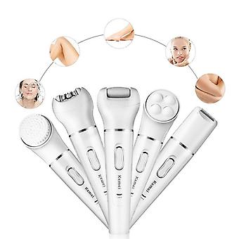 5 In 1 Electric Epilator Shaving Hair Remover Women Epilation
