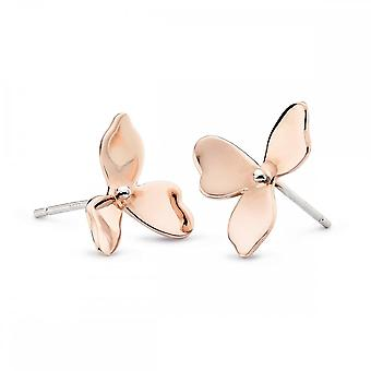 Kit Heath Blossom Petal Bloom Rose Gold Plate oorbellen 40268RG028