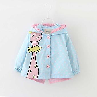 Autumn Fashion Baby Coats Jackets - Giraffe Pattern Clothes
