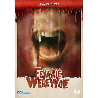 Hnn Presents: Female Werewolf [DVD] Usa tuo