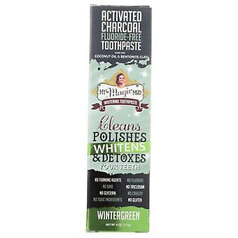 Il mio dentifricio sbiancamento del fango magico, Wintergreen 4 Oz