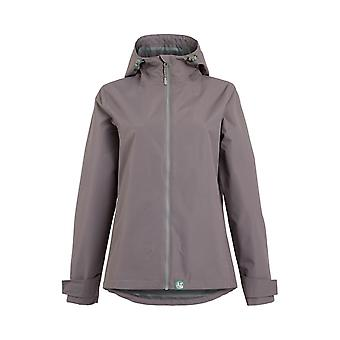 Tia Waterproof Jacket Ash Grey