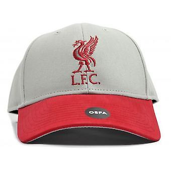 Liverpool FC Unisex Erwachsene zwei Ton Baseball Mütze