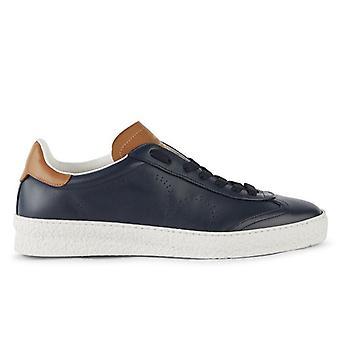 Sneaker Barracuda Guga Blu In Pelle