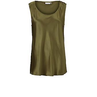 Masai Clothing Elita Green Silky Top