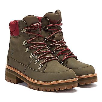 Timberland Courmayeur Valley WP Womens Olive Stivali Verdi