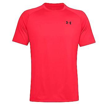 Under Armour Tech 2.0 Mens Korte Mouw Training T-Shirt T-Shirt Rood