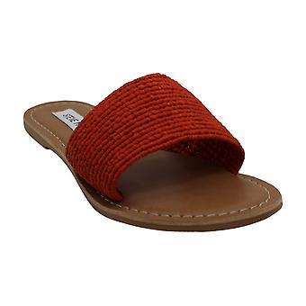 Steve Madden Womens Amalfi Open Toe Casual Slide Sandals