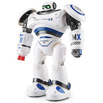 Ad Police File Programmable Combat Defender Intelligent Rc Robot Remote Control