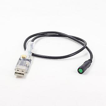 Cabo de programação USB da bicicleta elétrica, motor mid drive, peças para Bafang