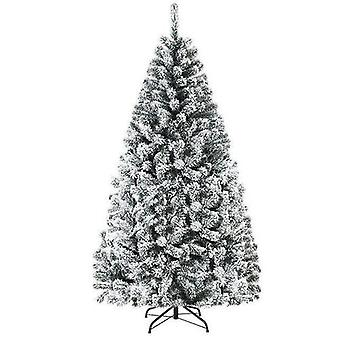 Snow Flocked Hinged Artificial Christmas Tree High Quality Pvc