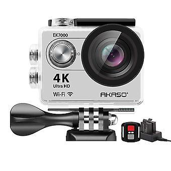 Akaso ek7000 4k sport aparat de fotografiat de acțiune ultra hd camera video 12mp wifi aparat de fotografiat impermeabil 170 de grade lățime v wom29129