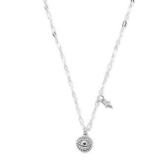 ChloBo SNLC4009 Delicate Evil Eye Necklace