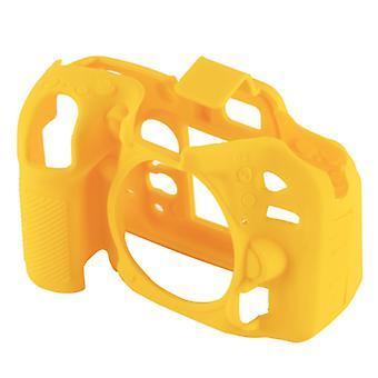 PULUZ Mäkké silikónové ochranné puzdro pre Nikon D7200 /D7100(žltá)