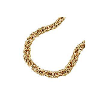 Halskæde byzantinske kæde forgyldt