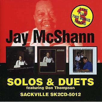 Jay McShann - Solos & Duets [CD] USA import