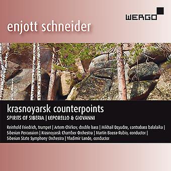 Krasnoyarsk Counterpoints [CD] USA import